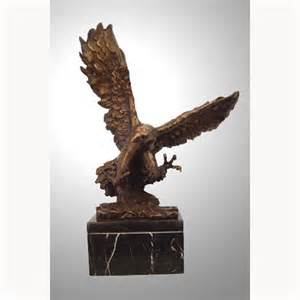life size bronze eagle statues sculptures figurines