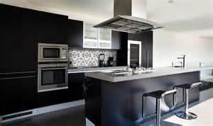 Délicieux Meuble Designer Pas Cher #5: cuisine-noire-2.jpg