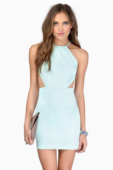Id 2298 Blue Bodycon Dress black bodycon dress open back dress bodycon dress