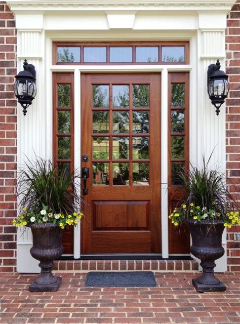 front door remodel best 25 wood front doors ideas on stained