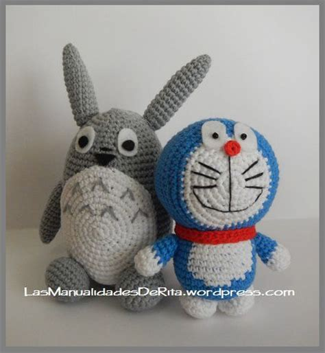 pattern crochet doraemon 126 best images about anime in amigurumi on pinterest