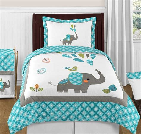elephant bedding queen mod elephant comforter set 3 piece full queen size by