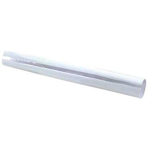 Plastic Shower Rod Cover by Ez Flo 15110 Shower Rod Cover Home Improvement