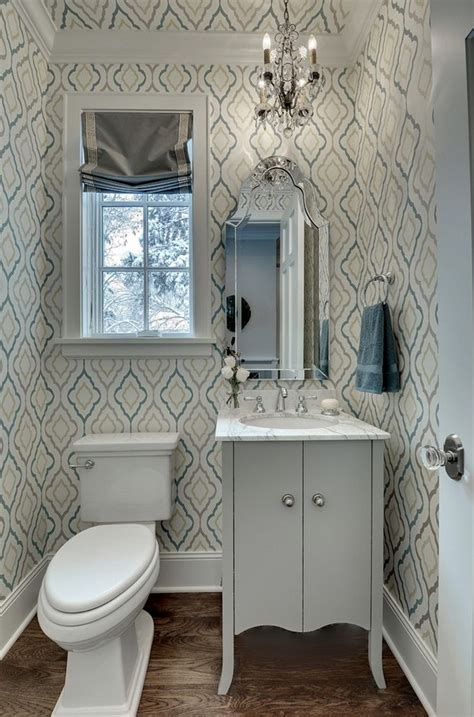 wallpaper for small bathrooms 25 best ideas about small bathroom wallpaper on pinterest