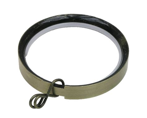 dk drapery hardware standard ring for 1 1 8 inch metal curtain rods at