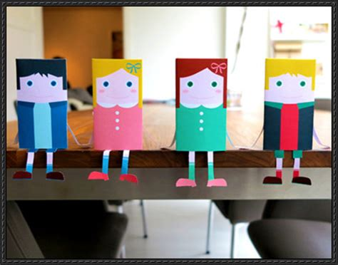 Paper Crafts For Boys - boy papercraftsquare free papercraft
