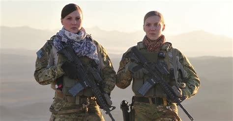 entertainment culture army photos military soldiers images the women of the army rangers cultural support teams