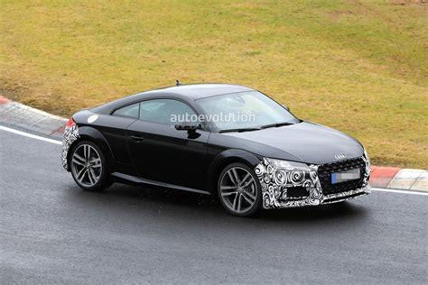 Audi Tt Facelift by Spyshots 2019 Audi Tt Facelift Spotted Testing On The