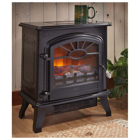 castlecreek electric stove heater 613116 home heaters