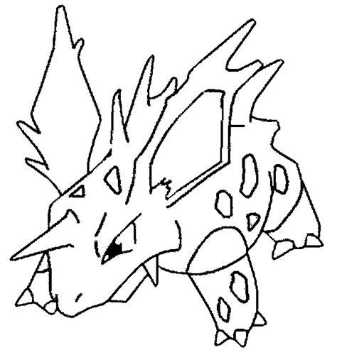 imagenes en blanco y negro de hulk coloriages pokemon nidorino dessins pokemon