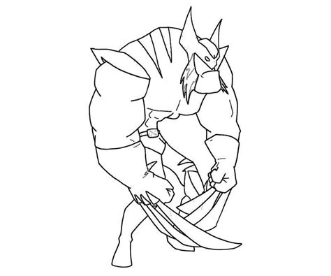 free coloring pages of wolverine animal