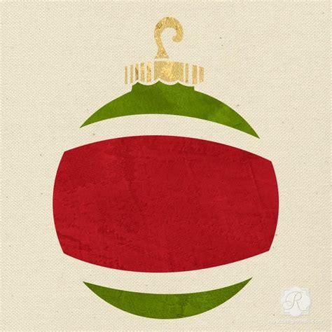 ornament christmas stencil royal design studio stencils