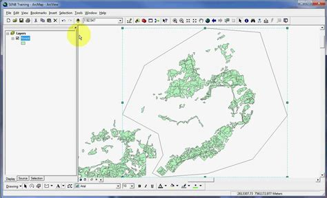 video tutorial arcgis 9 3 arcmap arcgis 9 3 1 creating layer from selected