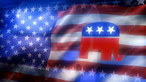 republican logo background