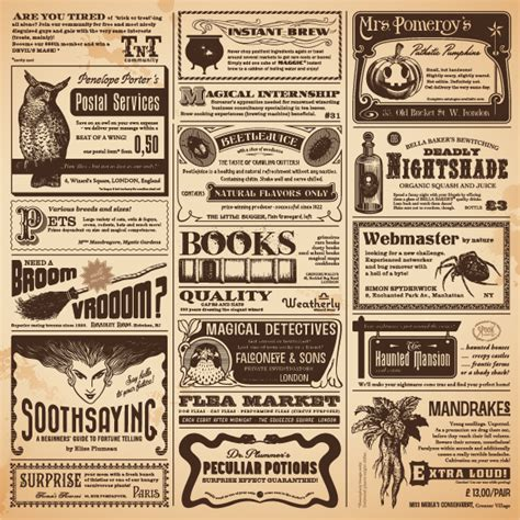 classic newspaper template vintage newspapers vector template 05 free