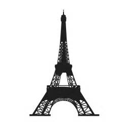 eiffel tower stencil clipart best