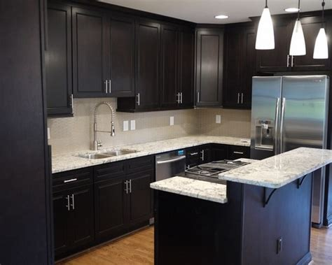 small kitchen black cabinets the designs for dark cabinet kitchen home and cabinet reviews