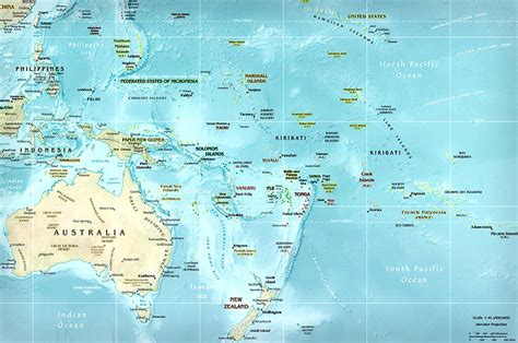 map of oceania countries australia map oceania map map of australia map of