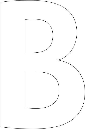 The 25 Best Stencil Patterns Letters Ideas On Pinterest Alphabet Stencils Homemade Printed Letter Templates Free Printable Uk
