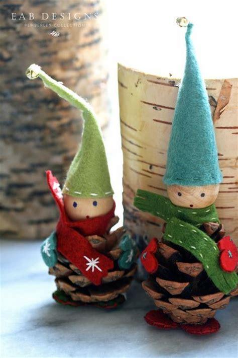 images  pine cone decorations  pinterest