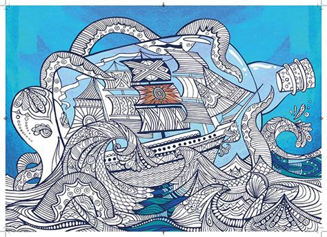 colour therapy latest adult coloring book focuses  anti