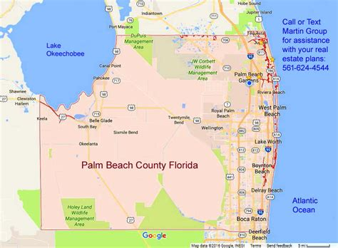 Palm County Fl Search Palm County Fl Flpalmbeach Martin Real Estate Team Map