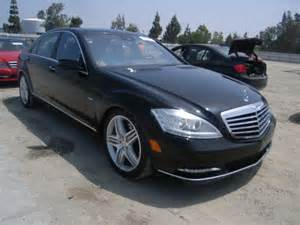 Copart Calendar Wrecked 2012 Mercedes S550 For Sale In Tx Dallas