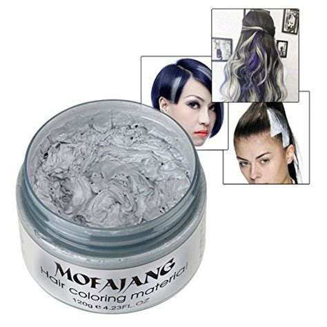Hairstyle Wax Grey by New Aesy Silver Grey Hair Wax Hair Color Matte