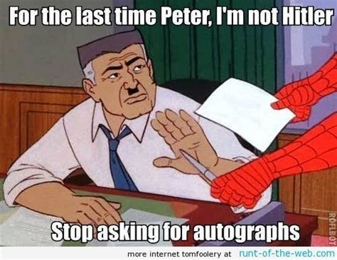 Be A Man Meme - the funniest spider man memes ever