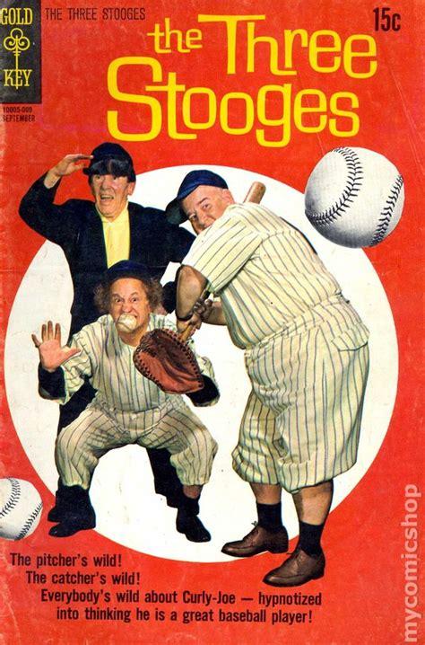 all three stooges books three stooges 1960 dell gold key comic books