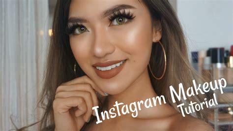 instagram tutorial makeup indonesia my instagram makeup tutorial bahasa indonesia youtube
