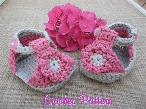 baby sandals crochet pattern baby sandals crochet pattern pdf easy