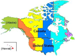 us time zone map including hawaii united states of america current time map weather