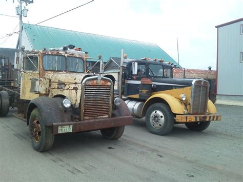 old kenworth trucks 40 s and 50 s kenworth vintage trucks trokke pinterest