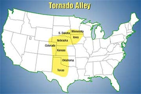 tornado alley texas map tornado alley state of occlusion