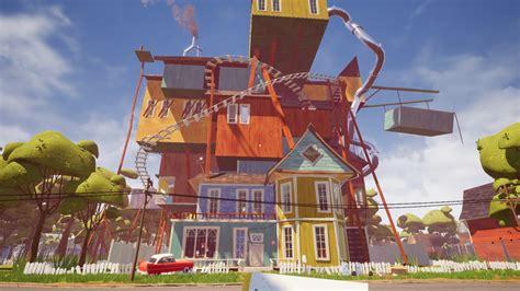 home design game neighbors hello neighbor alpha 2 ep 1 a hello neighbor alpha 4 the house image 4bitmlg mod db