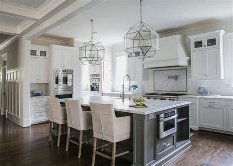 white marble kitchen with grey island house home white and gray kitchen designed by jackbilt homes home