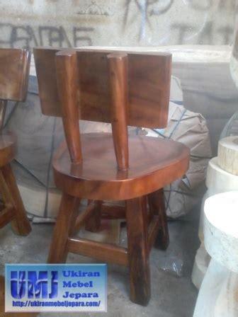 Kursi Kayu Bulat kursi antik kayu alami kursi antik kayu alami trembesi
