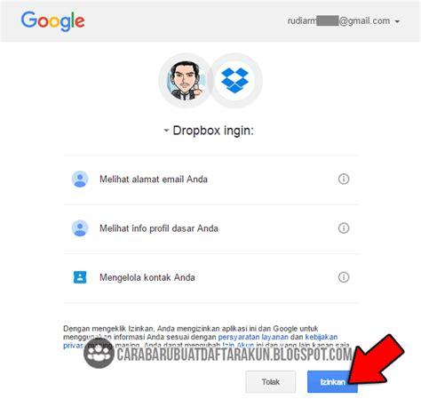 membuka akun gmail yang di hack cara upload file di dropbox serta membuat akun lewat pc