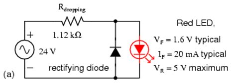 led diode in parallel lessons in electric circuits volume iii semiconductors chapter 3