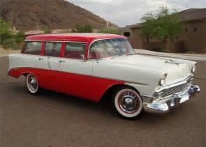 1956 chevrolet 210 4 door station wagon barrett jackson