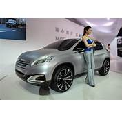 Peugeot 6008 Concept Beijing Bound Based On Citroen DS