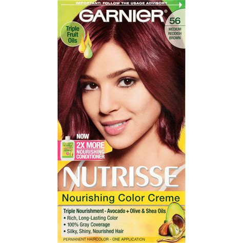 medium reddish brown hair color garnier 56 medium reddish brown sangria nourishing color