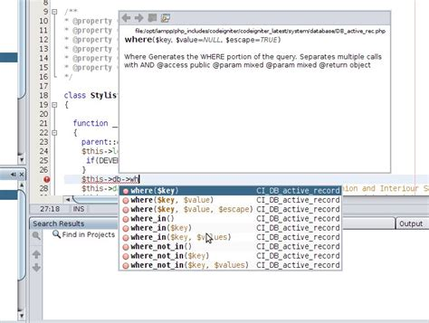 tutorial active record codeigniter my beloved php 187 blog archive 187 netbeans revisited code