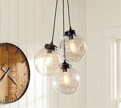 Pottery Barn Pendant Lights Calhoun Multi Pendant Pottery Barn