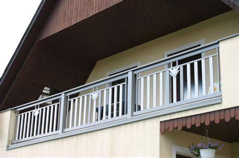 balkongeländer bausatz grau zaun dekor