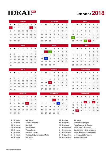 Calendario Escolar 2018 Madrid Pdf Calendario Madrid 2018 Beb 233 S Y Reci 233 N Nacidos