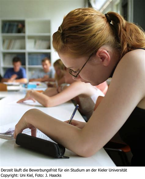 Bewerbung Studium Zvs Uni Kiel Bewerbung F 252 Rs Studium