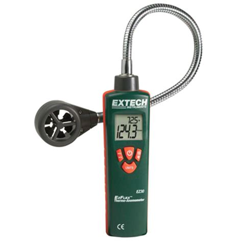 Thermo Anemometer ezflex thermo anemometer air velocity meter with