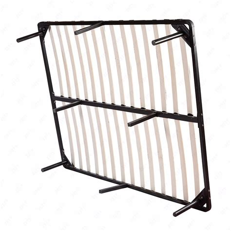 Metal Bed Frame With Slats Size Wood Slats Metal Bed Frame Platform Mattress Foundation Bedroom Bed Ebay